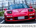 深红色跑车 30050428