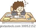 수업 시간에 졸 30052152