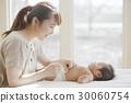 모자, 엄마와 아들, 아기 30060754