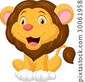 Cute lion cartoon 30061958