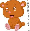 아기, 동물, 벡터 30061992