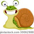 Cute snail cartoon 30062988