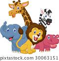 코끼리, 벡터, 동물 30063151
