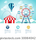 Element for infographic of amusement park concept. 30064042