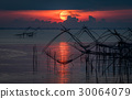 Beautiful Sunrise at Pakpra, Phatthalung, Thailand 30064079