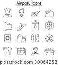 機場 航空 向量 30064253