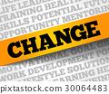 change, word, vector 30064483