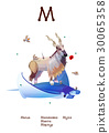 Russian Alphabet Amusing Animals letter 14 - 1/33 30065358