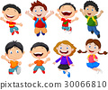 Happy school kid cartoon 30066810