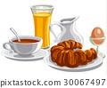 morning healthy breakfast 30067497