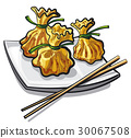 chinese steamed dumplings 30067508