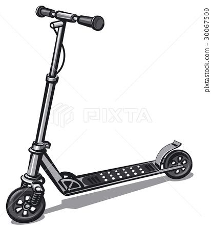 modern electro scooter 30067509