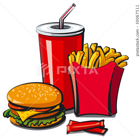 fast food meal 30067511