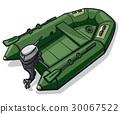 rubber motor boat 30067522