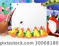 卡通 动物 框架 30068186