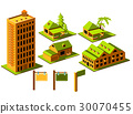 Real Estate icon set 30070455