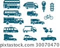 Types of city public and commercial transport 30070470