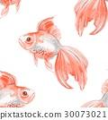 魚 背景 無縫的 30073021
