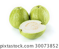 Big Guava isolated on white background 30073852