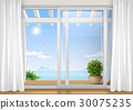 Sliding window of the hotel 30075235