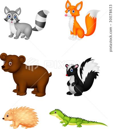Wild animal cartoon 30078633