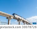 monorail, sky, international air route 30078726
