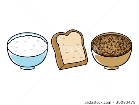 cooked rice, baker, bread 30083479