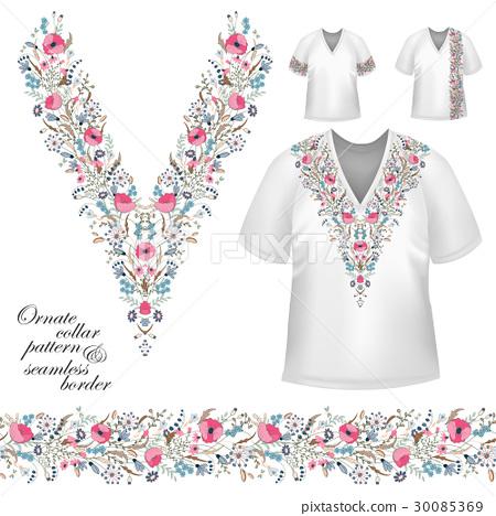 vector collar vintage design 30085369