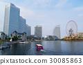 โยโกฮาม่า,มหาสมุทร,ท้องฟ้าเป็นสีฟ้า 30085863