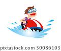 여름 휴가, 해양 스포츠 30086103