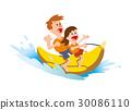 海洋體育 摩托艇 男人和女人 30086110