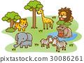 草原动物 30086261