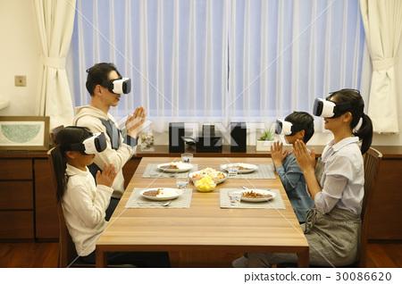 Family dinner VR experience 30086620