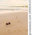image of sea and sandglass 30093415