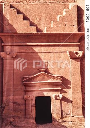 사우디 아라비아 왕국의 세계 유산 나바 테아 왕국의 고대 유적 30094691