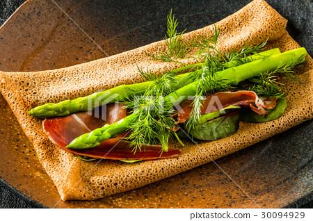 閣樓 縐布 法國食品 30094929