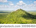 Scenic green valley and tea mountains, Ceylon 30096460