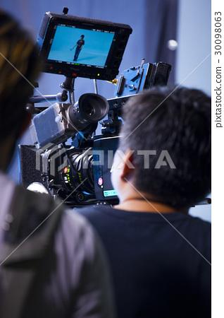 攝影棚,攝影機,攝影師,スタジオ、カメラ、カメラマン,Studio, camera,  30098063