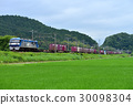 EF 210 - 128 Container freight train 30098304