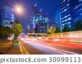 Cityscape of Shinjuku with traffic lights, Tokyo 30099113