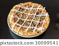okonomiyaki japanese pizza 30099541