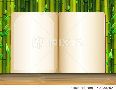 Background template with bamboo 30100702