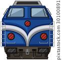 白色 火车 设计 30100891