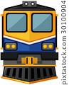 白色 火车 设计 30100904