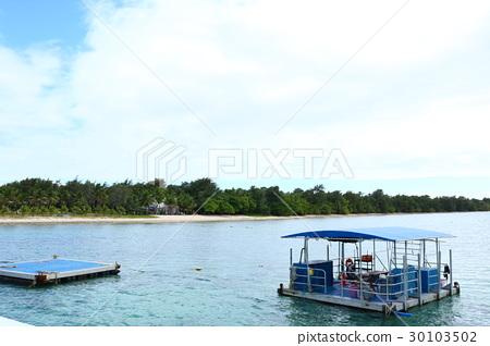 배, 바다, 상쾌한 30103502