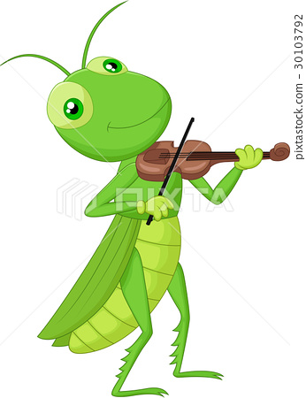 Grasshopper with a Violin 30103792