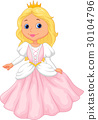 Cute princess cartoon 30104796