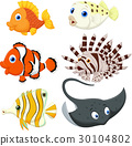 Tropical fish cartoon 30104802