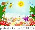 Small animals cartoon 30104814