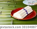 素面 面粉制成的日本面条 面条 30104887